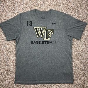 Nike Wake Forest basketball t-shirt L Team Issued